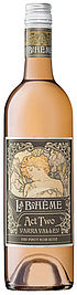 La Boheme Act Two Dry Pinot Noir Rose NV